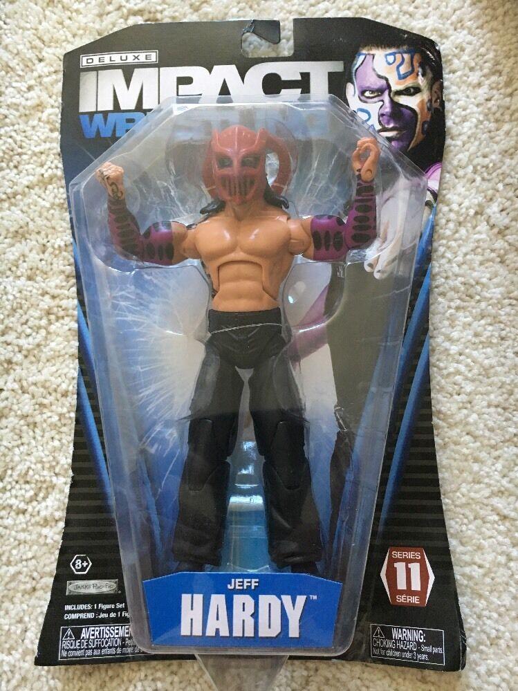 Deluxe Impact Wrestling Series JEFF HARDY Action Figure Wwe Hardy Boys