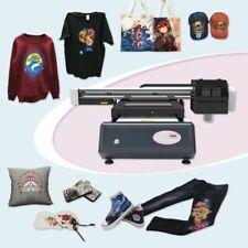 6090 Digital Flatbed Duplex Trays T Shirt Printer White Ink Color Ink Printer
