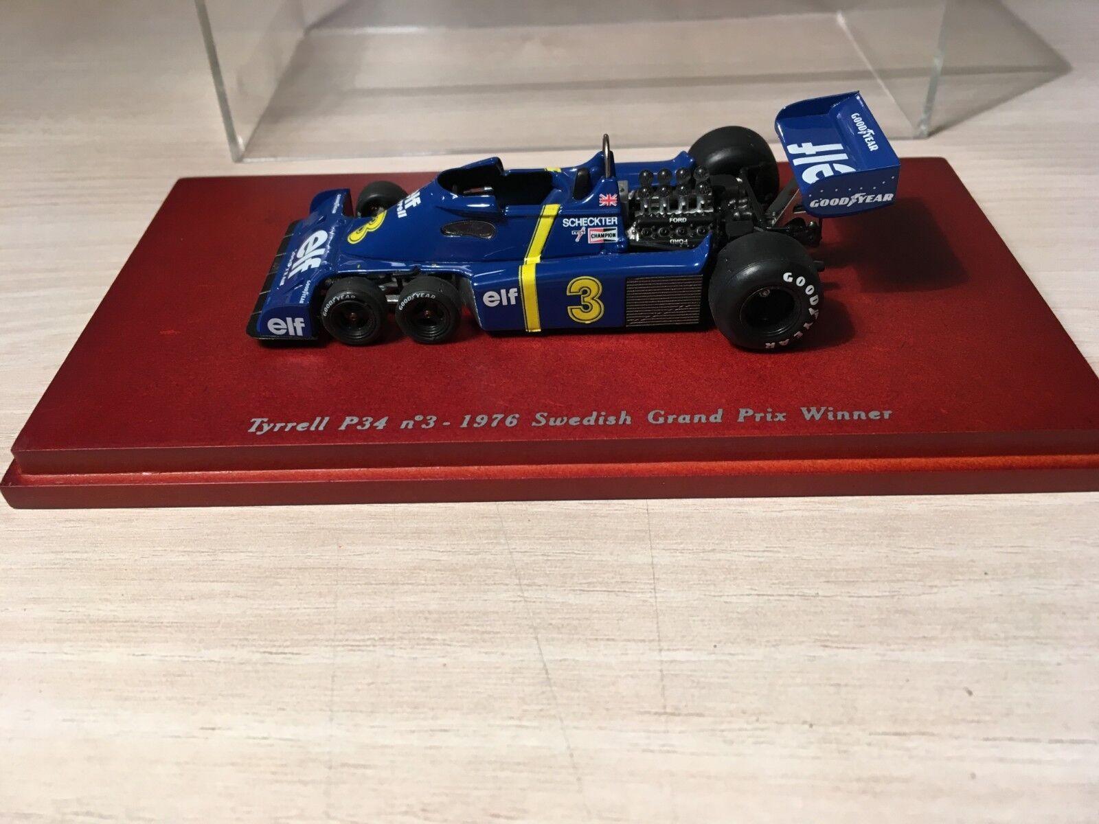 respuestas rápidas Truscale Truscale Truscale Modelo 1 43 Tyrrell P34 Scheckter ganador Suecia 1976  Tu satisfacción es nuestro objetivo