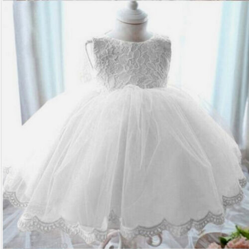 Toddler Baby Princess Girl Dresses Wedding Easter Junior Bridesmaid Christening