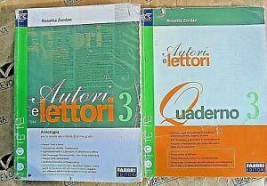 Autori E Lettori Vol 3 Con Allegato In 2 Vv Rosetta Zordan Fabbri Editori Ebay