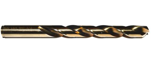 Jobber Length Cobalt Drill Bit 11//32 Diameter 135° Split Point USA RMT 95004219