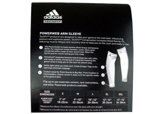 Adidas Climacool techfit brazo Sleeve//kompressionsstulpe baloncesto bandage nba