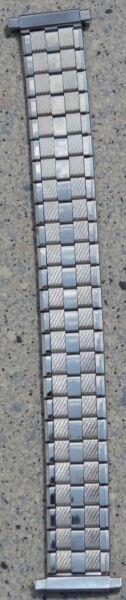 Flex-uhrenarmband Silberfarben Glänzend Aus Edelstahl