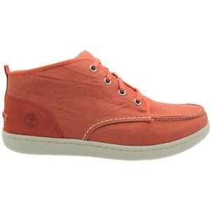 6235a D26 para con cordones lona Newmarket Timberland hombre Chukka Zapatillas de naranja vPxwqxd