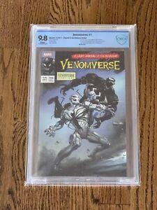 VENOMVERSE #1 CBCS 9.8 Ultimate Edition 43/250 Clayton Crain The Comic Mint TCM