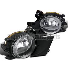 2001-2003 BMW E39 525i 528i 540i Fog Lights Bumper Lamps Clear Lens