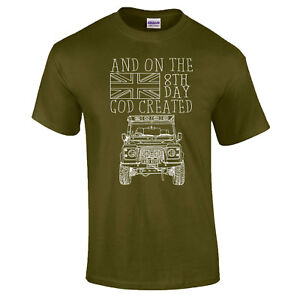 SKETCH-8th-Day-God-Created-Rover-Farm-Land-Off-Road-Premium-DTG-Funny-T-Shirt