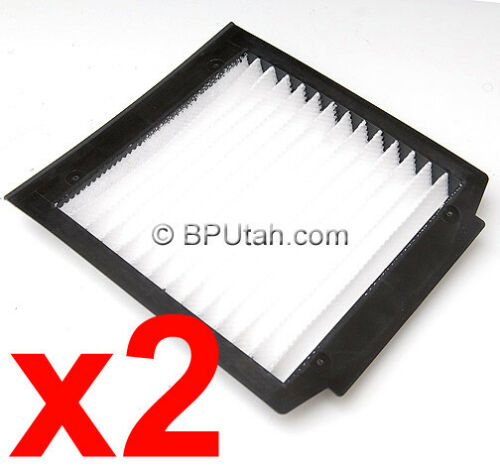 Range Rover P38 Pollen Cabin Air Filter Cleaner NEW = PAIR = 1995~2002