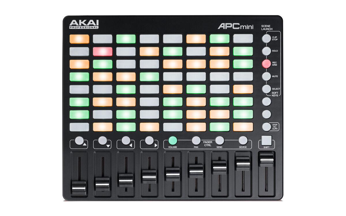 Akai APC Mini Compact Abton Live Controller