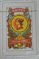 Spanish Playing Cards 50 Baraja Espanola Briscas Naipes Tarot Deck