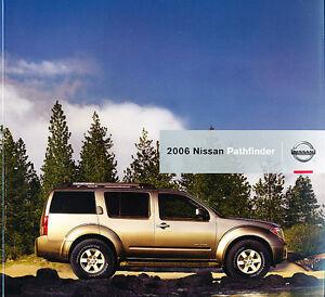 2006 Nissan Pathfinder For Sale >> Details About 2006 Nissan Pathfinder Original Sales Brochure Book