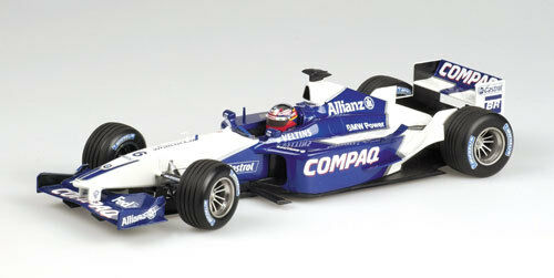 MINICHAMPS 1 18 F1 WILLIAMS LANCEMENT DE LA BMW VOITURE 2002 J. P. MONTOYA art.