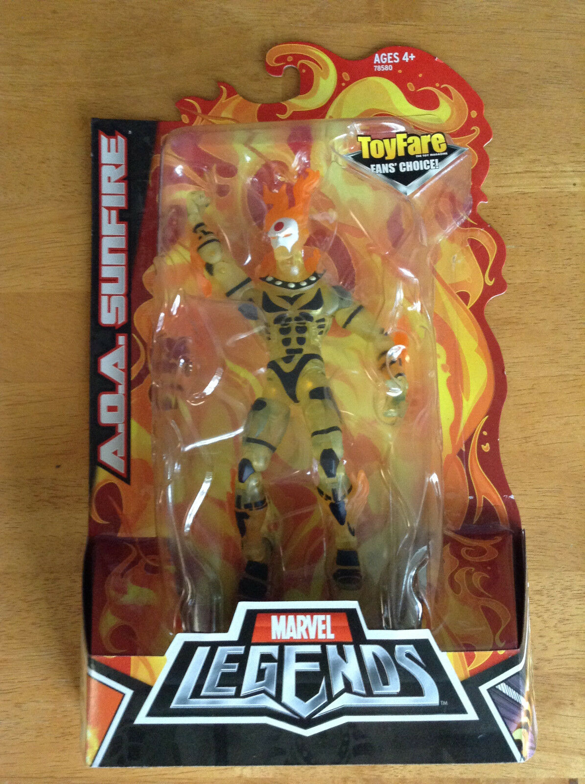Marvel Legends NEW - AOA SUNFIRE - Toyfair SDCC Exclusive - X-Men Apocalypse