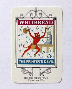Holbourne, 98-99 Fetter Lane, London - The Printer's Devil - 1973 Pub Card Vjsmpzzw-08005922-626402972