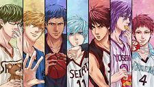 Kuroko no Basket Anime Basketball Manga Art Panorama Print Poster 22,7 x 13''