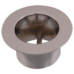 """Zoro Select 35256 Bath Strainer Body,Silver,Pipe 1-1//2/""""Dia"""