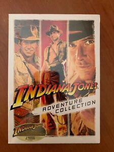 INDIANA JONES COLLECTION COFANETTO 3 DVD FILM CULT HARRISON FORD COME NUOVO
