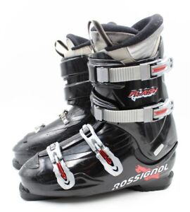Used Ski Boots >> Details About Rossignol Flash Adult Ski Boots Size 11 5 Mondo 29 5 Used