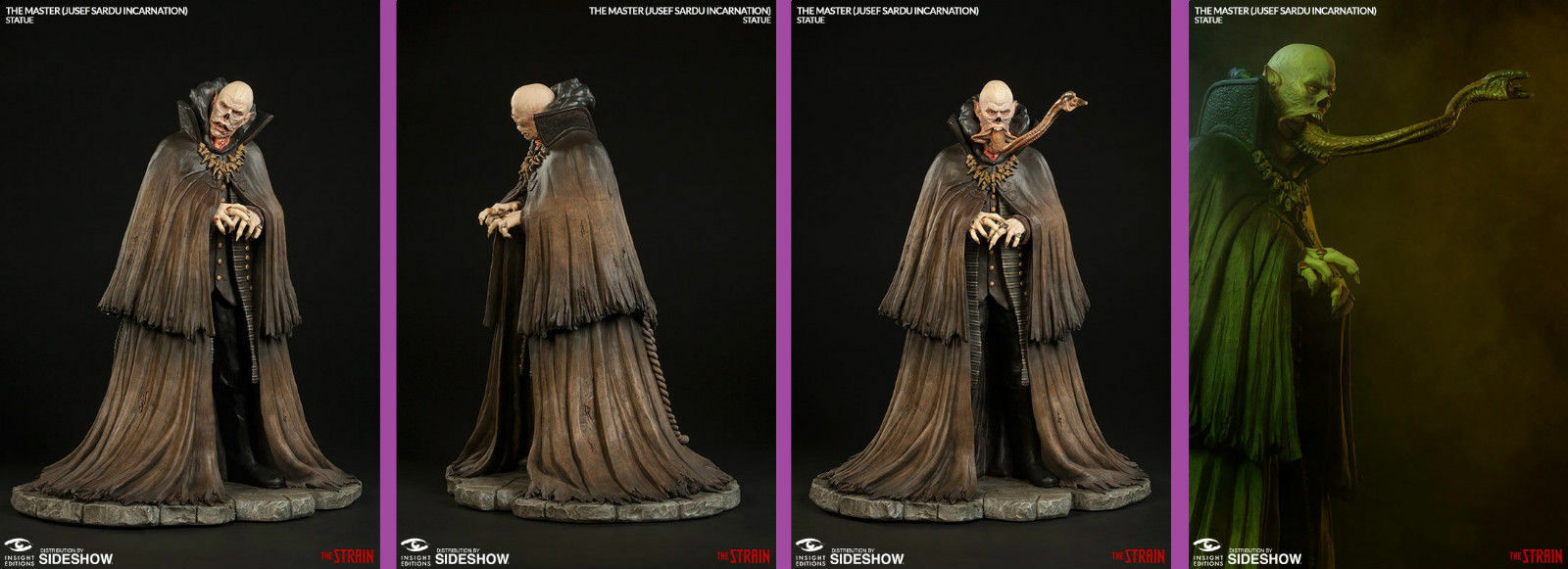 Sideshow Insight Collectibles The Strain Statue - The Master - Jusef Sardu 1/5
