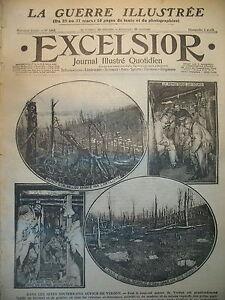 WW1-N-1965-SOUS-SOL-DE-VERDUN-REVOLTE-AU-MEXIQUE-CAMP-DE-CHALONS-EXCELSIOR-1916
