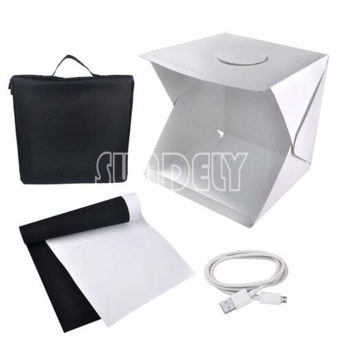 Professional Small 40CM Photo Studio Kit Portable Mini Light Box Cube Tent UK