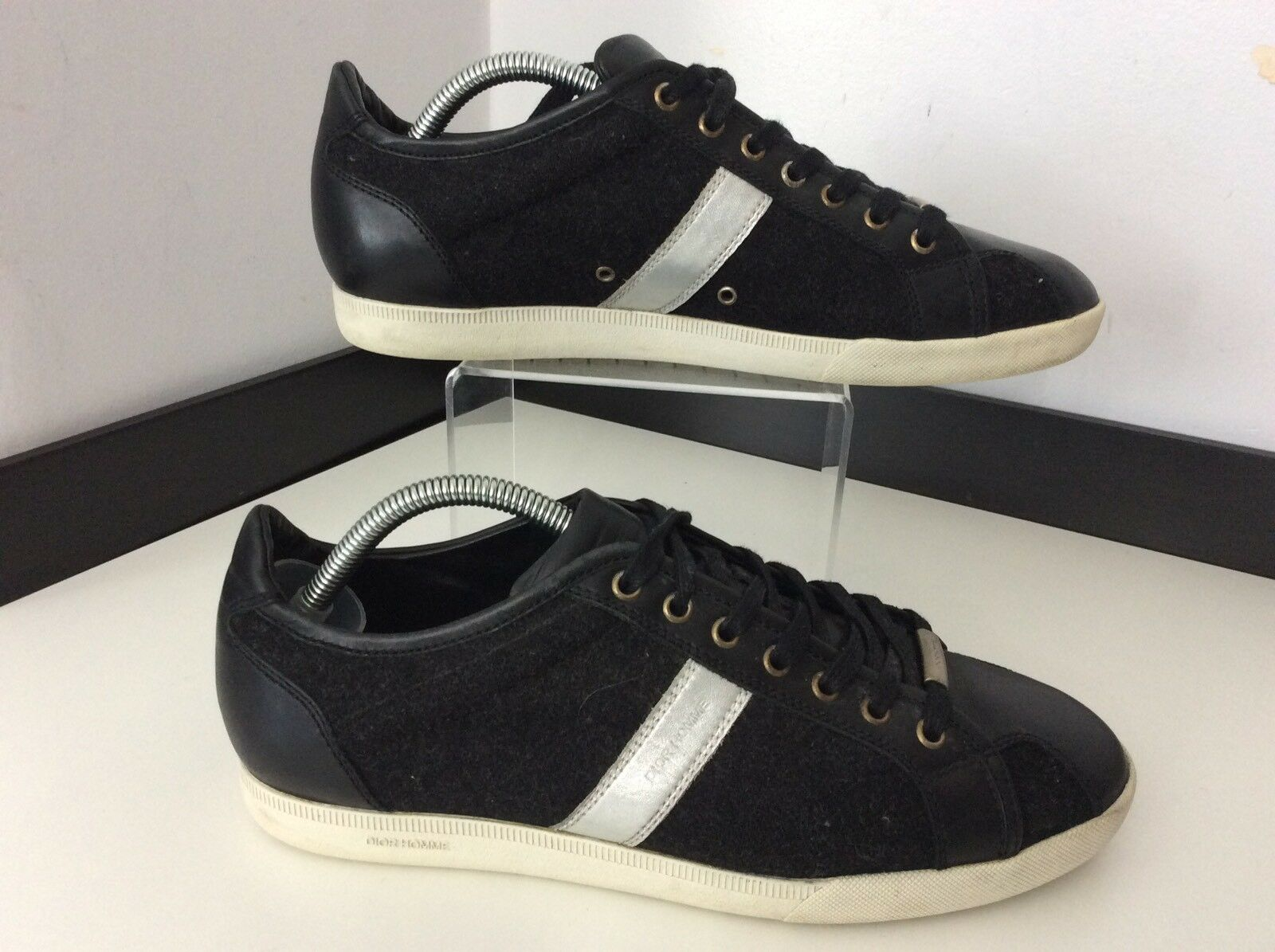 Dior hommes Sneakers, Trainers,ChaussuresUk 7 Eu41 CharcoalGris ,noir , Gc