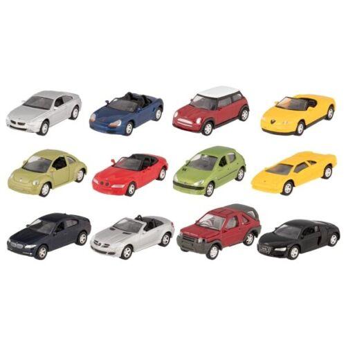 7,5 cm 12 coches de modelo en el set 1:60 largo aprox