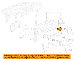 15860532 Genuine GM Switch Part#