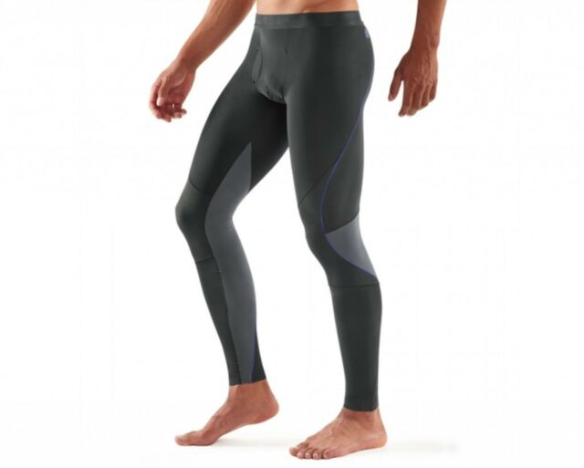 a7458d6802451 SKINS Men's RY400 Compression Long Tights For Recovery and Muscle Healing