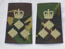 Brigadiere, rango cinghie, COPPIA, DPM rankslides, Brigata Generale