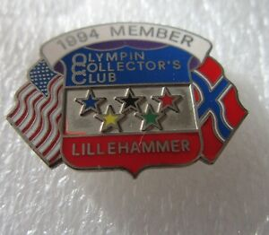 1994-LILLEHAMMER-Olympics-OLYMPIN-CLUB-pin-badge
