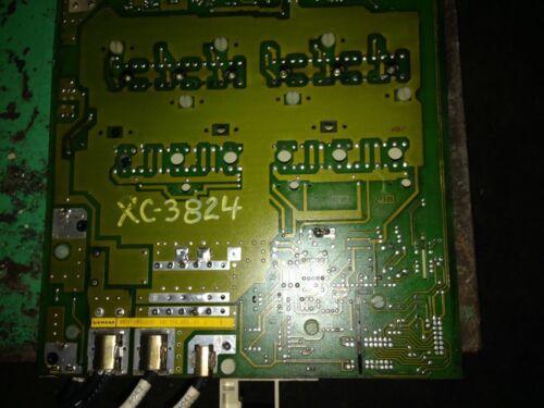 Siemens 6SC6100 0AB00 SIMODRIVE 610//210 AC FEED DRIVE P.C.B VOLTAGE CLAMPING 0.9