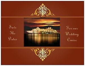 100-Personalized-WEDDING-CRUISE-Ship-Save-the-DATE-Post-CARDS-USA