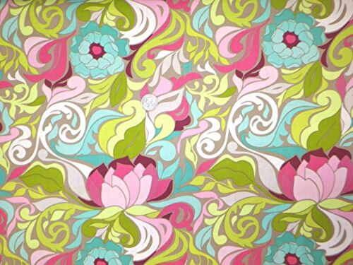 By 1//2 Yard Riley Blake Fabric ~ Halle Rose Floral Gray ~ Lila Tueller Design