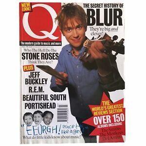 Q Magazine Blur Stone Roses Portishead Beautiful South The Smiths REM Prince