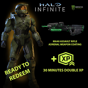 Halo Infinite MONSTER ADRENAL MA40 AR Weapon Coating DLC (All Regions!)