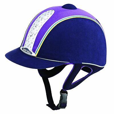 Harry Hall Legend Plus Equina Junior Bsi Kitemark Leggero Cappello Da Equitazione Di Sicurezza-