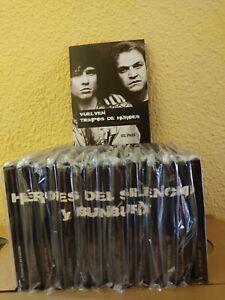 Heroes-del-Silencio-034-Coleccion-Completa-034-15-Libros-Cd-039-s-DVD-2007-El-Pais