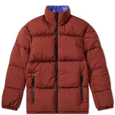 Nike NikeLab NRG Reversible Puffer Jacket Parka Coat Maroon Red Blue AJ1992 250 | eBay