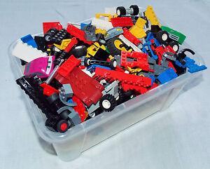car equipment LEGO Bau- & Konstruktionsspielzeug Baukästen & Konstruktion LEGO® 25 Autoteile Zubehör Scheiben Fahrgestell Lenkrad Räder usw