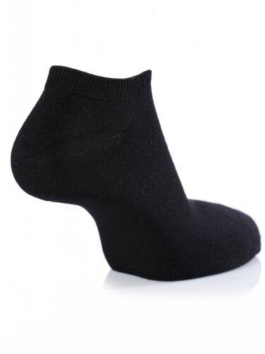 36//12prs Zapatillas Interior Calcetines Tobilleros Hombre Mujer De Algodón