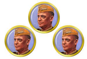 General-Eisenhower-Marqueurs-de-Balles-de-Golf