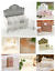 20-CONFEZIONI-biodegradabile-gettare-NOZZE-CORIANDOLI-di-carta-tessuto-decorazione-tavola miniatura 1