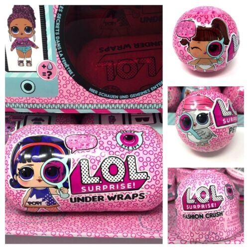 Lol Surprise Eye Spy Big Bundle Under Wraps /& Lil Sisters /& Pets /& Fashion Crush