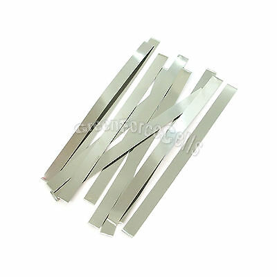 10 pcs 7.5cm x 0.5cm Solder Tab For AA AAA SubC 10440 14500 18650 battery