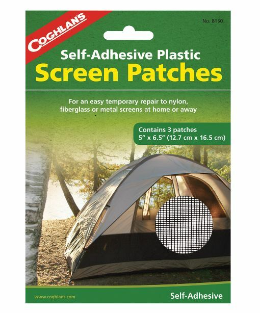 Coghlan's Screen Patch for RV / Camper / Pop-Up / 5th Wheel  ***FREE SHIPPING***