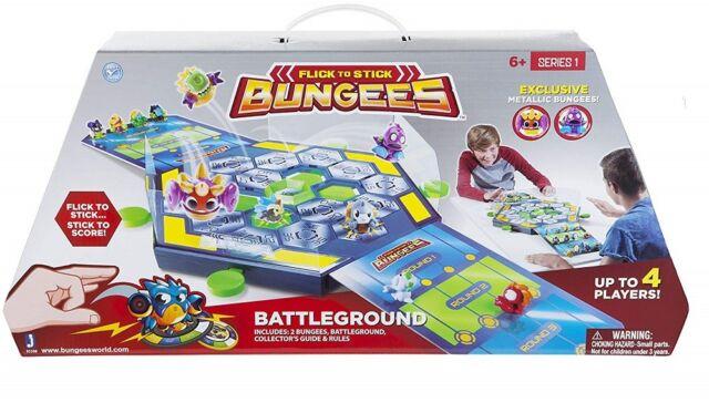Flick To Stick Bungees Battleground Arena Game Series 1