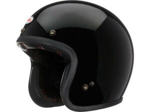 Casque-jet-moto-BELL-Custom-500-Gloss-Black-NEW-2021