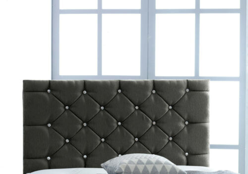 Brand New Handcrafted Luxury Chenille Fabric Headboard 2ft6 3ft 4ft 4ft6 5ft 6ft